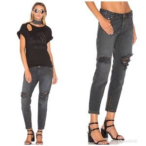 One Teaspoon St Rebel Freebirds Distressed Denim
